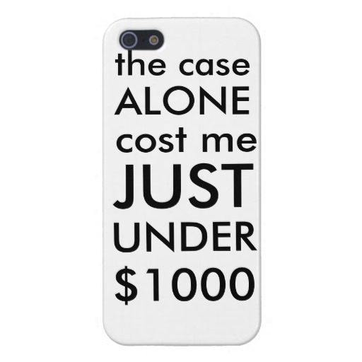 Slightly Less Expensive Case for Expensive Phones ($1,035)