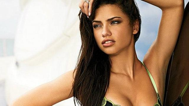 "1. ""I won't cry for you. My mascara is too expensive.""  Adriana Lima"