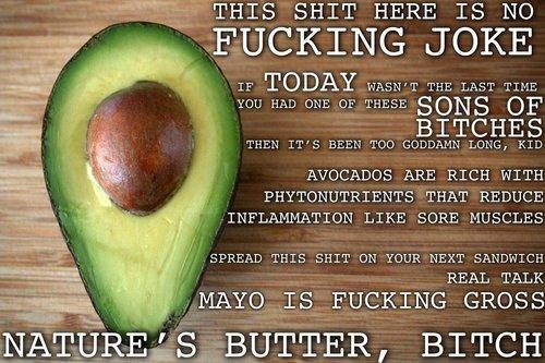 1. Avocados