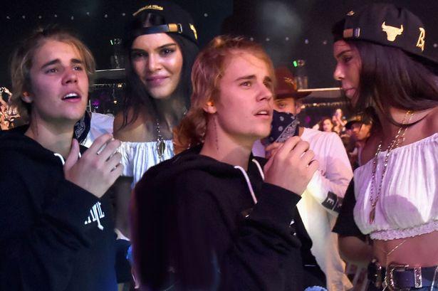 1. Justin Bieber got hella handsy with slutty Esmerelda from the Hunchback of Notre Dame aka Kendall Jenner.