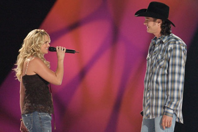 Blake and Miranda met at a CMT music special in 2005.