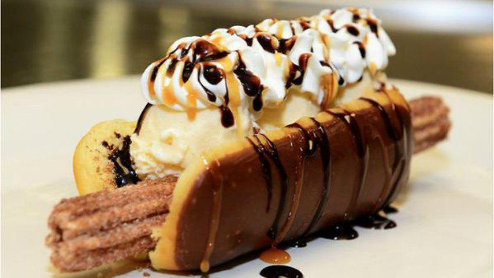 The Arizona Diamondbacks' Churro Dog