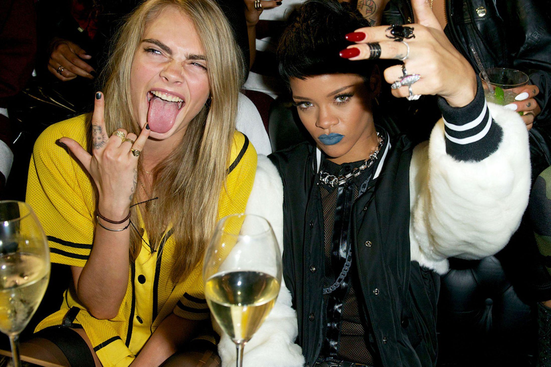 Edgy Rihanna