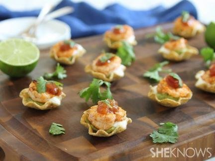 1. Shrimp Taco Bites