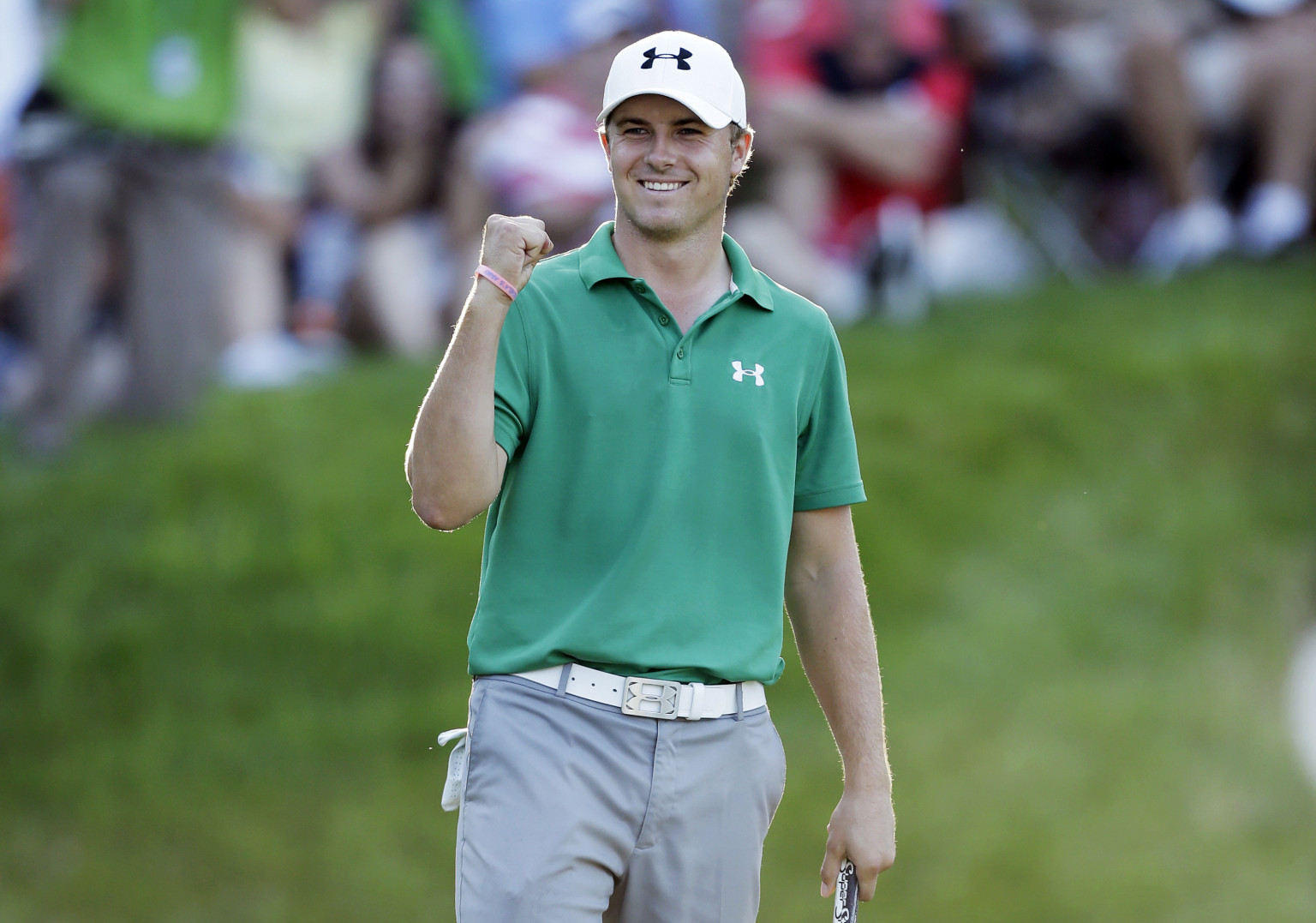 Spieth became the second youngest golfer to ever win the Masters tournament.