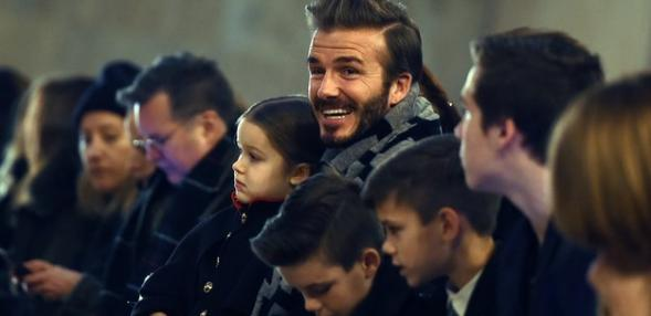 Here Are Some New Pics of The Beckham Family For Your Monday