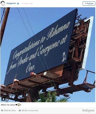 RIhanna Billboard Instagram