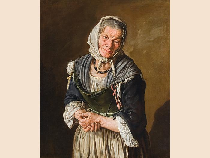 Old medeival woman