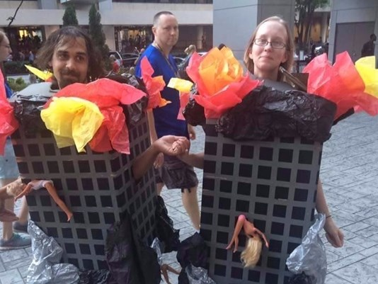 World Trade Center costume