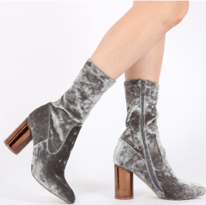 Elva Mirrored boots