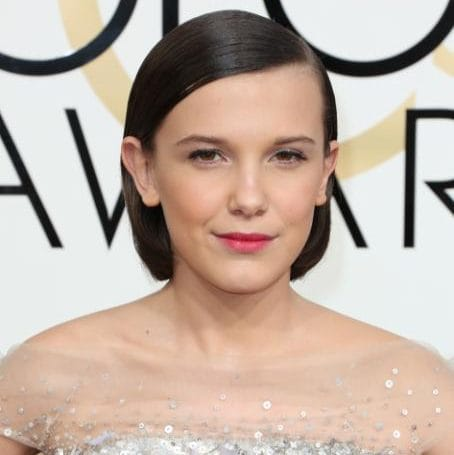 Millie Bobby Brown Golden Globes