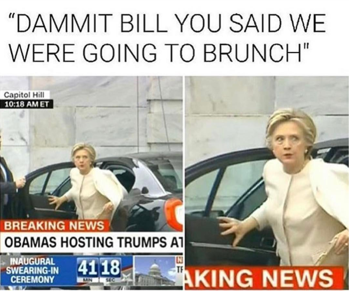 Screen Shot 2017 01 22 at 11.47.04 PM a recap of the inauguration betches,Hillary Inauguration Meme