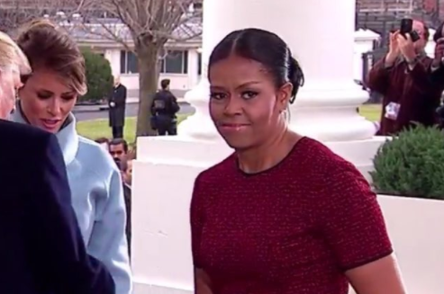 Michelle Obama Confused