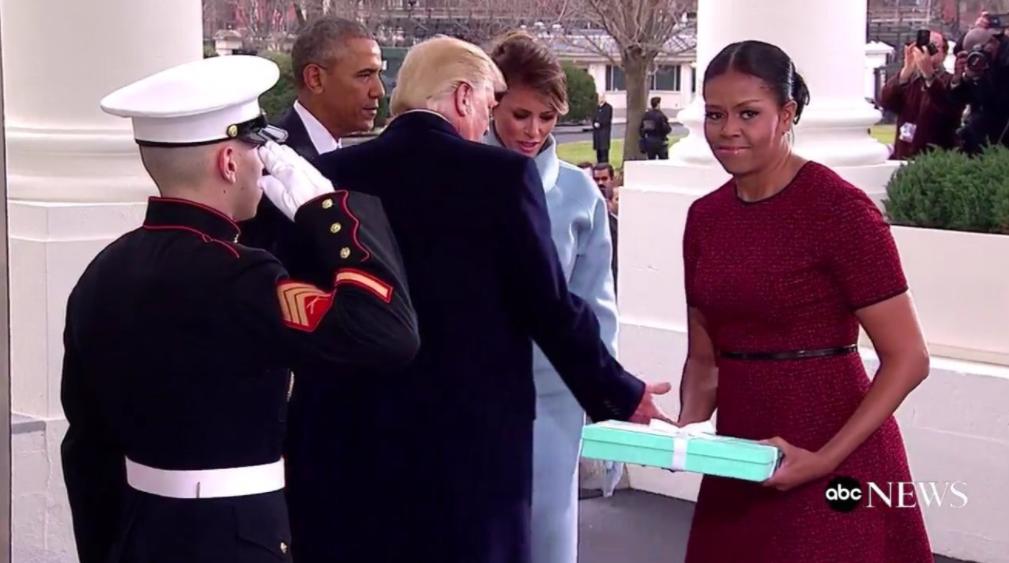 Michelle Obama Inauguration Box
