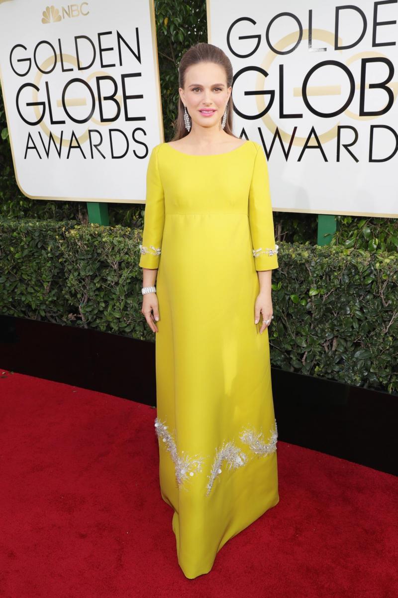 Natalie Portman Golden Globes
