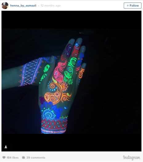 UV Henna Tattoos