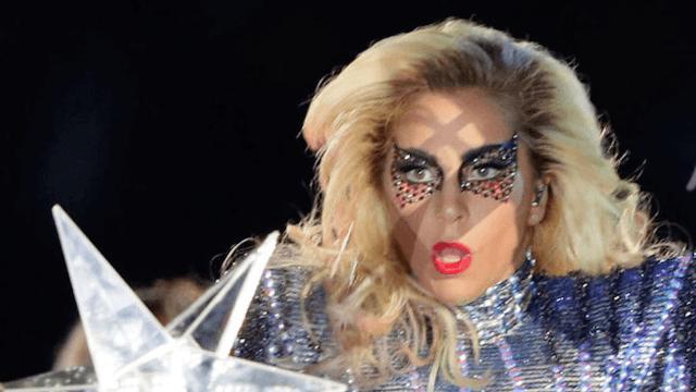 Lady Gaga Eye Mask Super Bowl