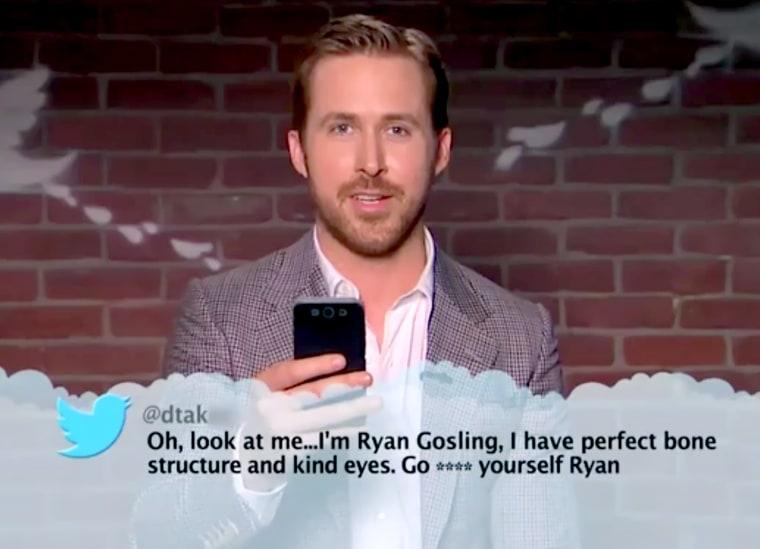 Ryan Gosling Mean Tweet