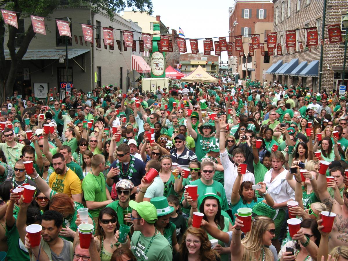 Savannah St Patrick's Day Celebration