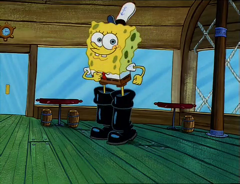 Spongebob Squeaky Boots