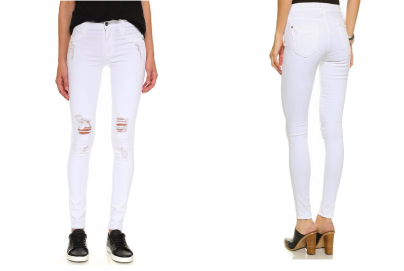 James Jeans Twiggy Ultra Flex White Leggings Jeans