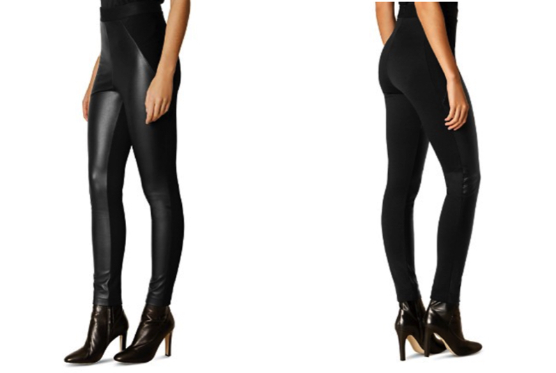 Karen Miller Faux Leather Leggings