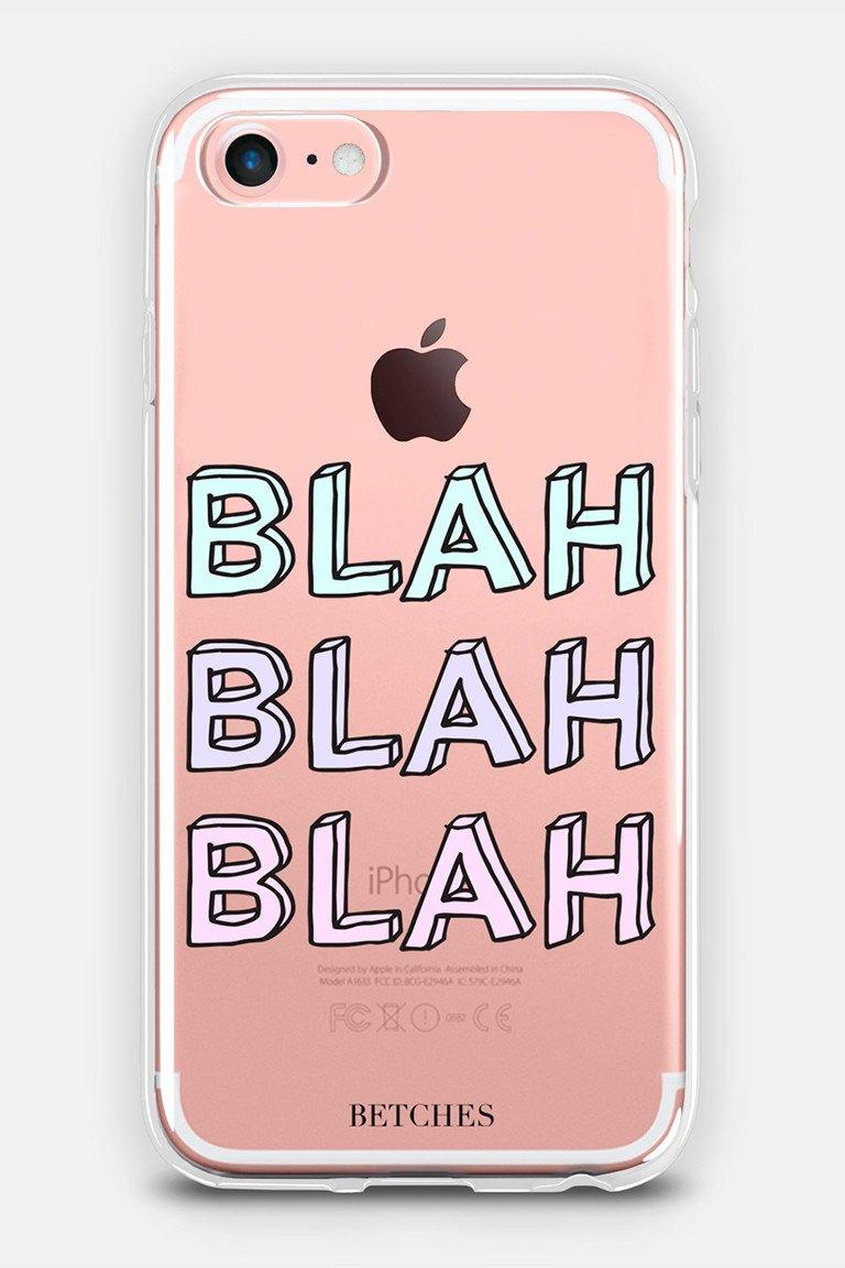 Blah Blah Blah Phone Case