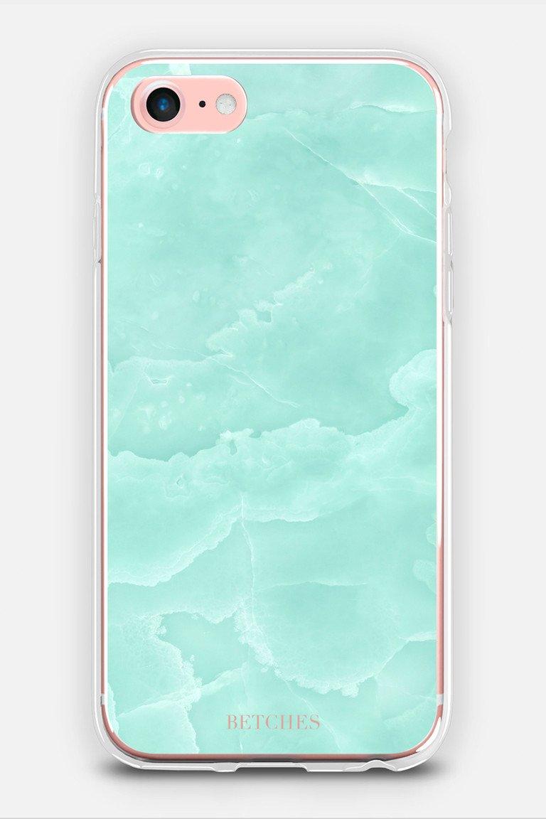 Sea Foam Glass Shop Betches Phone Case