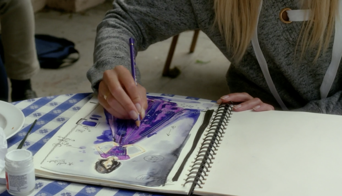 Hanna Sketches Pretty Little Liars