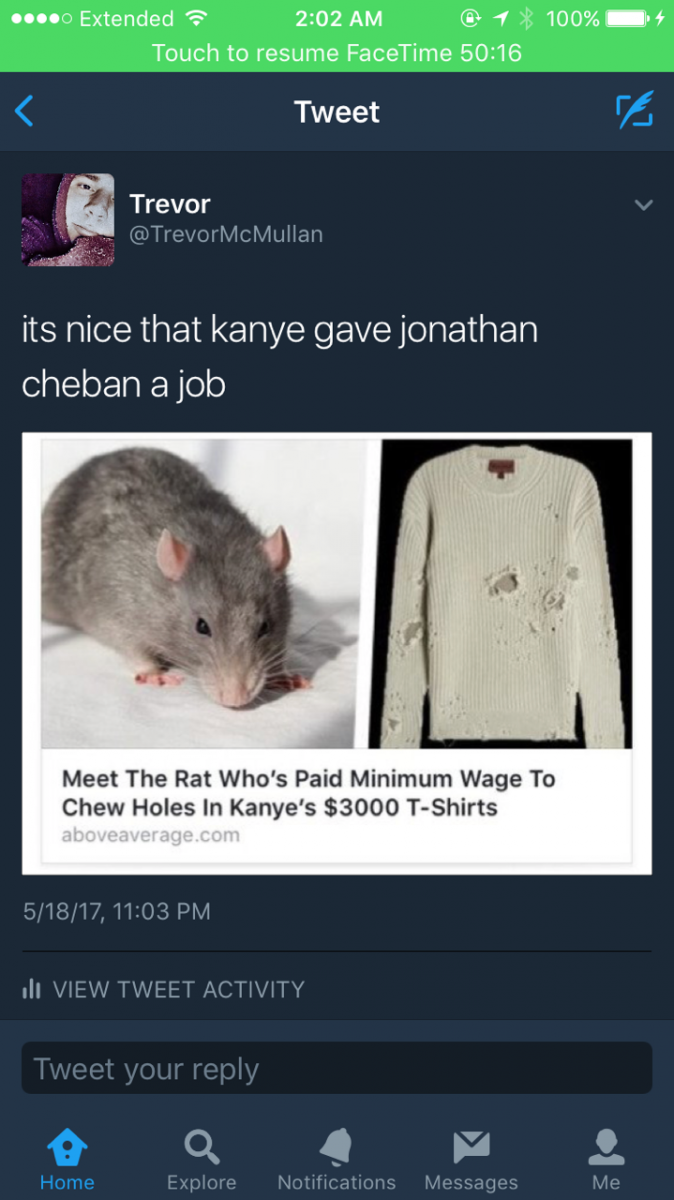 Jonathan Cheban Tweet