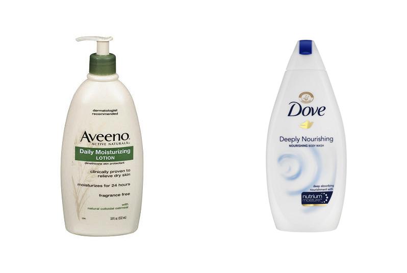 Aveeno And Dove