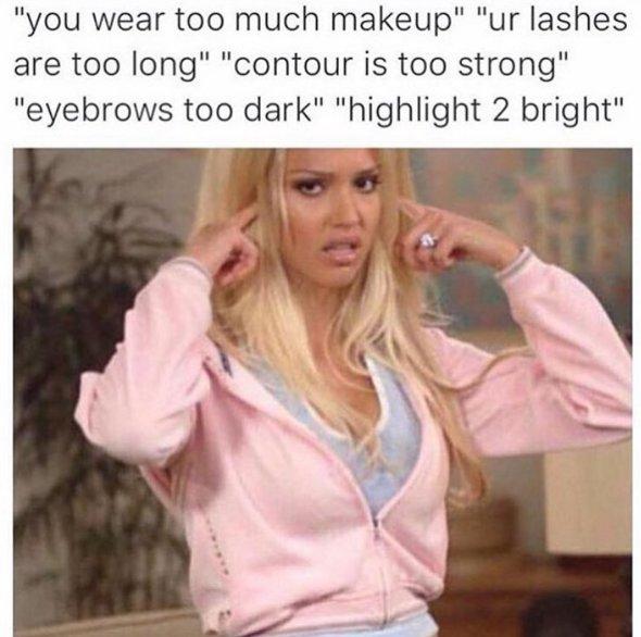 Makeup Meme