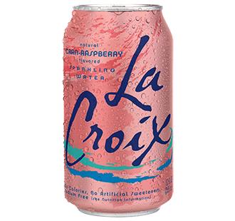 Cran-Raspberry LaCroix