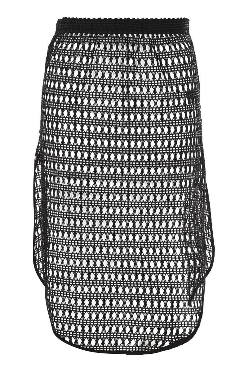 TopShop Lace Midi Skirt Cover Up
