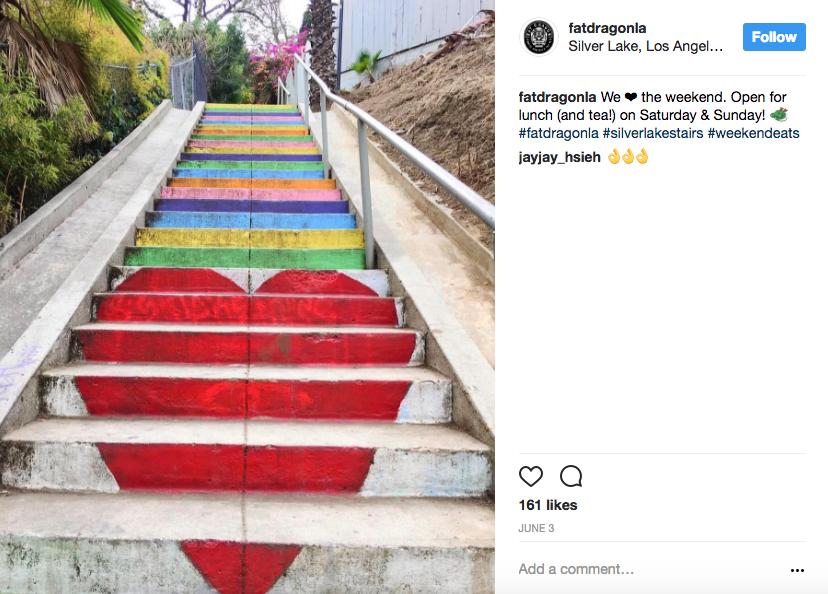 Mitchelerona Stairs LA