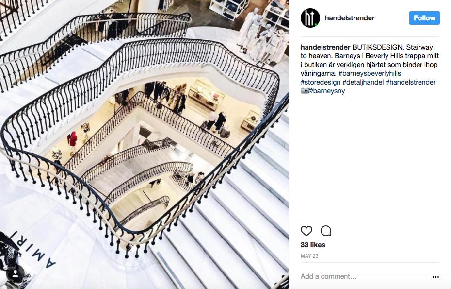 Barneys Staircase Beverly Hills LA