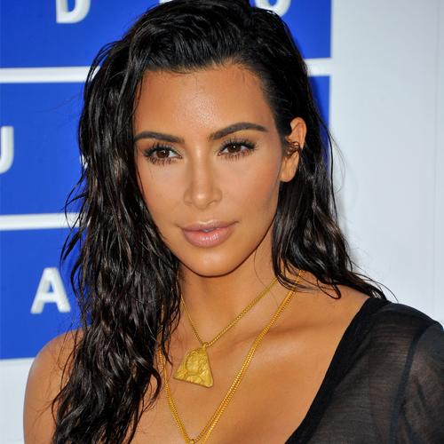 Kim Kardashian Wet Hair