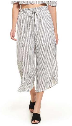 Leith Drawstring Cropped Pants