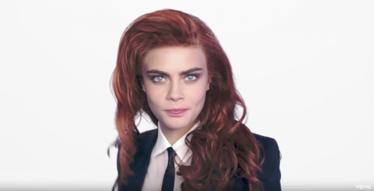 Cara Delevingne Music Video