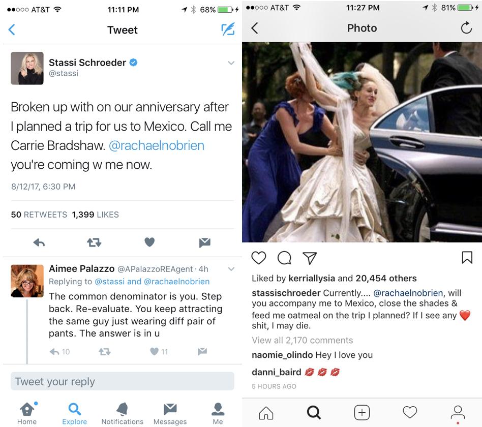 Stassi Schroeder Breakup