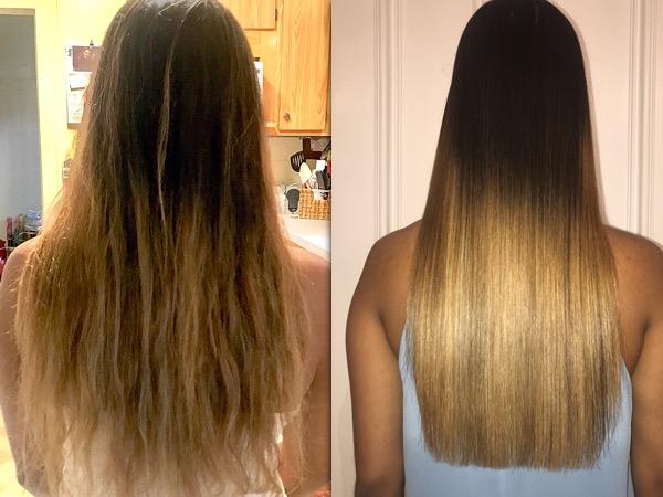 Magic Sleek Before & After