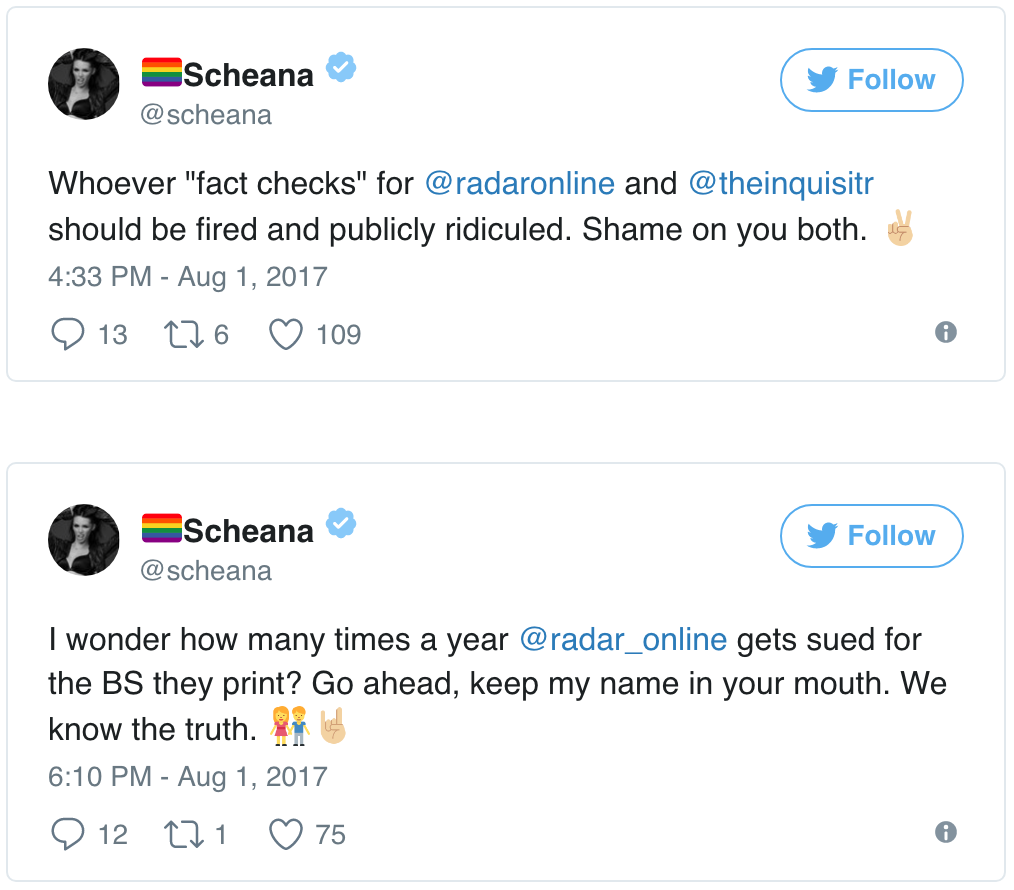 Scheana Shay Twitter