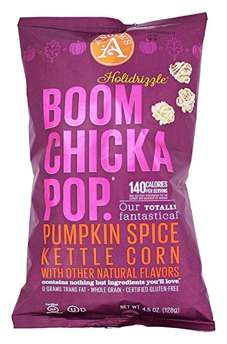 Pumpkin Spice Boom Chicka Pop