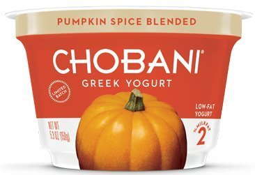 Chobani Pumpkin Spice Blended Yogurt