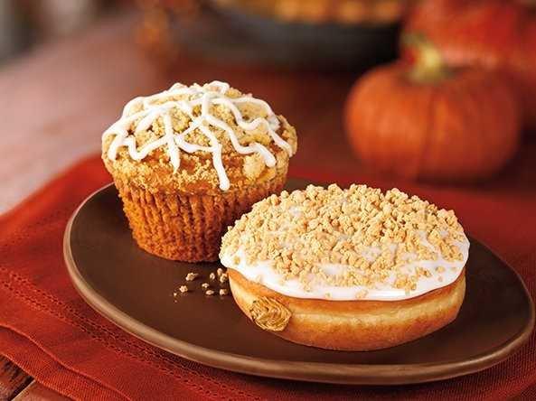 Dunkin Donuts Pumpkin Spice Muffin