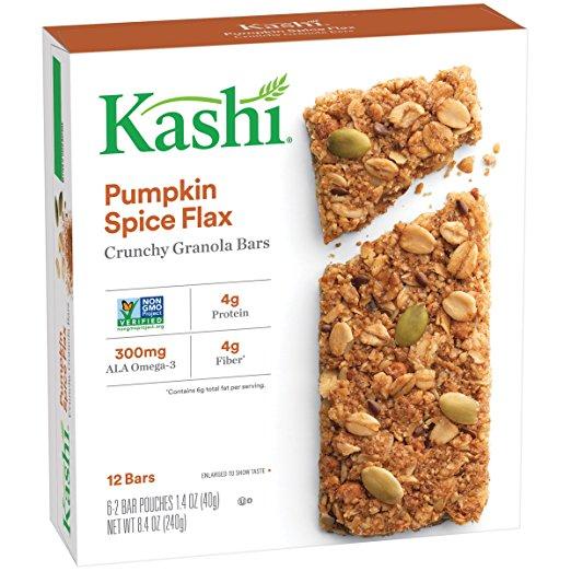 Kashi Pumpkin Spice Granola Bars