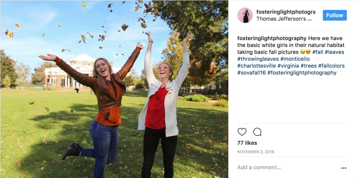 Throwing Leaves Instagram