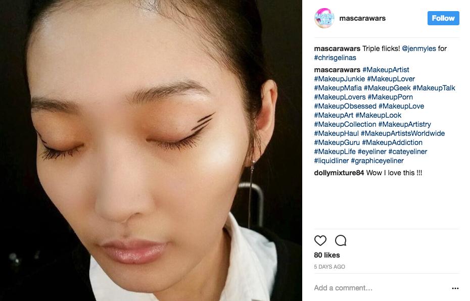 Graphic Eyeliner