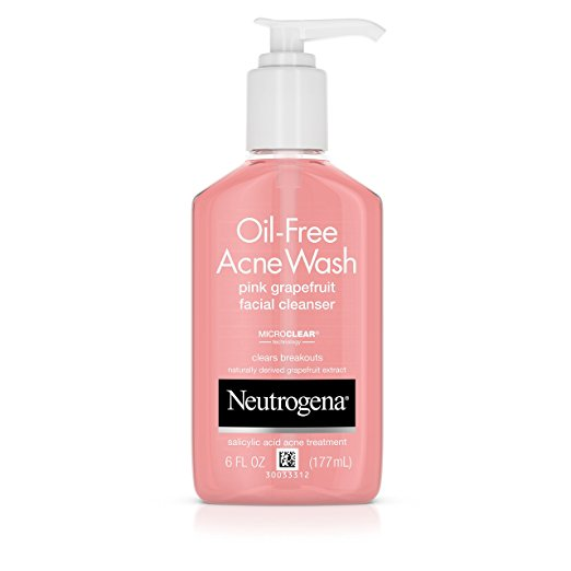 Neutrogena Oil-Free Acne Wash Pink Grapefruit Facial Cleanser