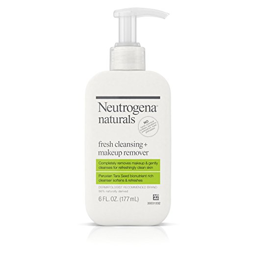 Neutrogena Naturals Fresh Cleansing Makeup Remover Face Wash